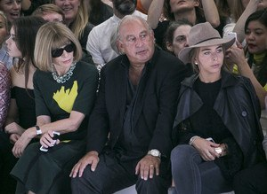 Anna Wintour, Sir Phillip Green y su hija Chloe