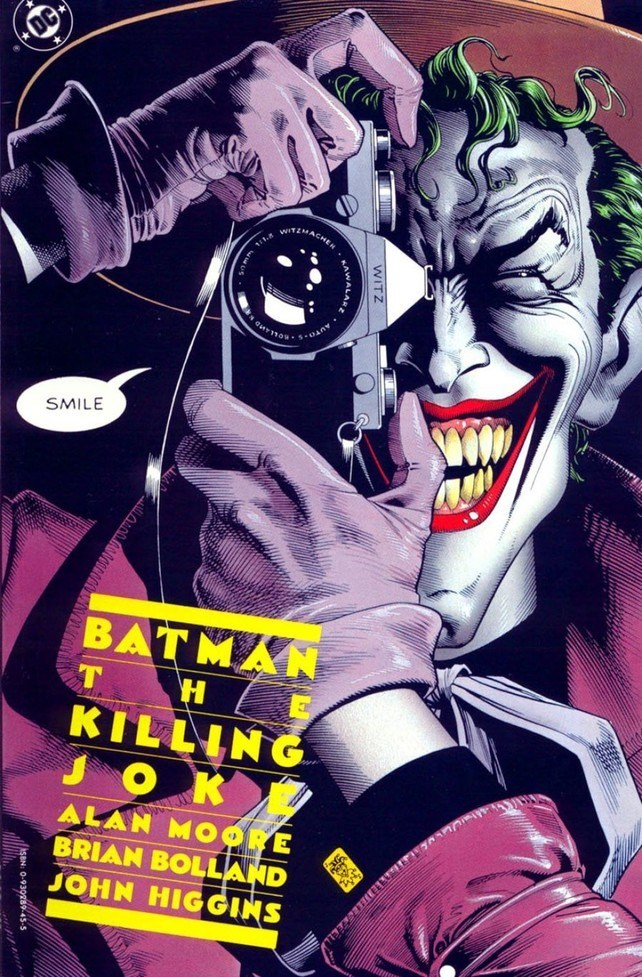 La portada original de The Killing Joke.