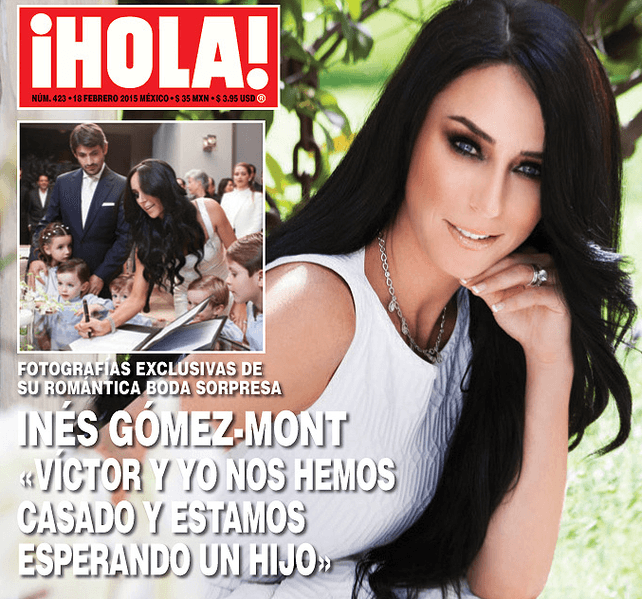 La revista ¡Hola! presenta en exclusiva la boda de Inés y May.