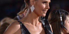Heidi Klum en la gala de los People's Choice Awards